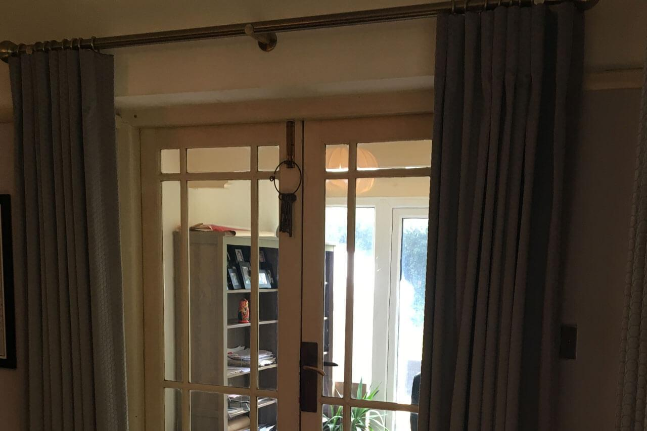 Curtains for a bay window in Rothwell 06