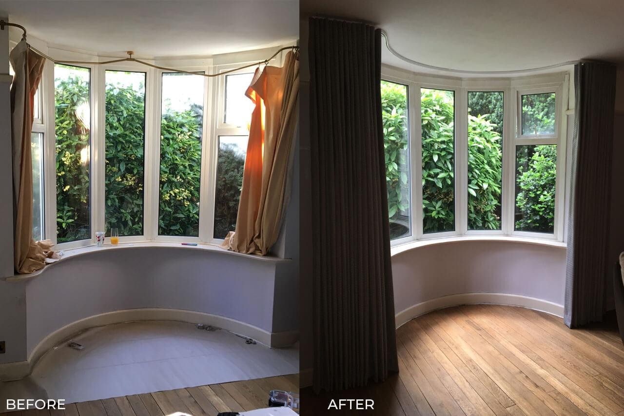 Curtains-for-a-bay-window-in-Rothwell-Before-and-After
